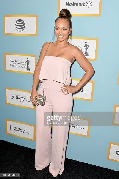 TV personality Evelyn Lozada attends the 2016 ESSENCE Black Women In Hollywood awards luncheon at the Beverly Wilshire Four Seasons Hotel on February...