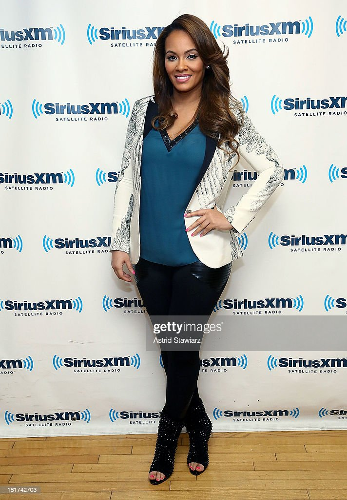 TV personality Evelyn Lozada visits the SiriusXM Studios on September 24, 2013 in New York City.