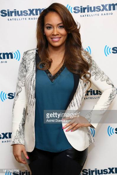 TV personality Evelyn Lozada visits the SiriusXM Studios on September 24 2013 in New York City