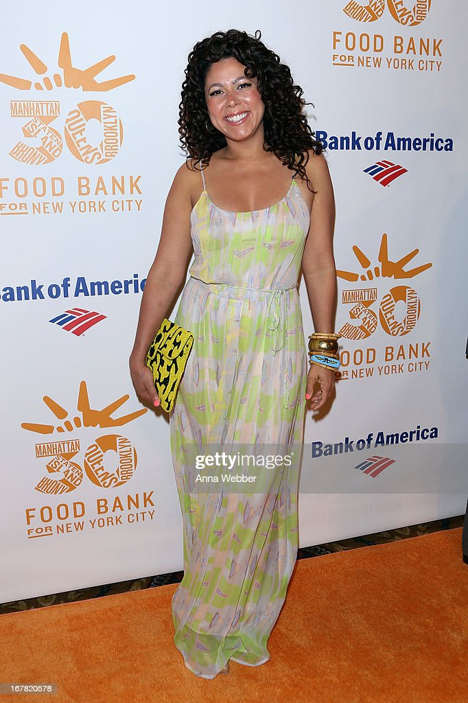 TV personality Evette Rios arrives at the Food Bank For New York City's Can-Do Awards celebrating 30 years of service to NYC on April 30, 2013 in New York City.