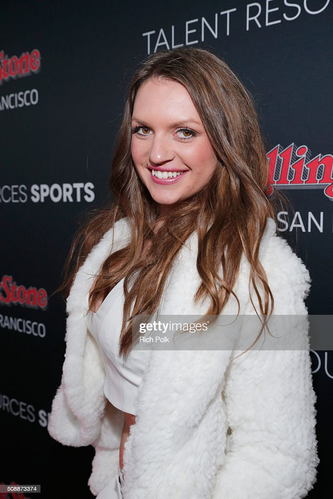TV personality Fancy Alexandersson attends Rolling Stone Live SF with Talent Resources on February 7, 2016 in San Francisco, California.