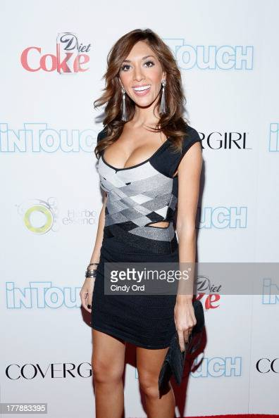 Personality Farrah Abraham arrives at Intouch Weekly's 'ICONS IDOLS Party' at FINALE Nightclub on August 25 2013 in New York City