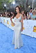 TV personality Farrah Abraham attends The 2015 MTV Movie Awards at Nokia Theatre LA Live on April 12 2015 in Los Angeles California