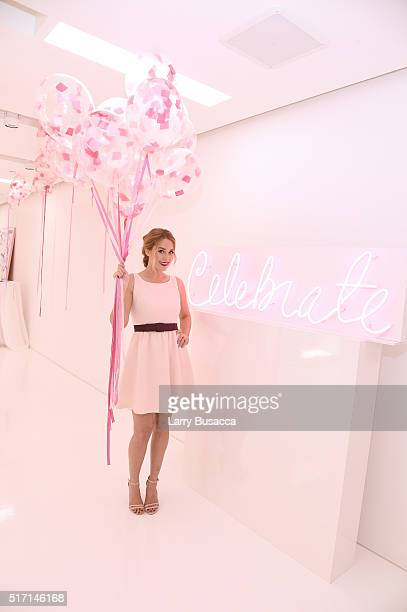 TV personality fashion designer and author Lauren Conrad attends the 'Lauren Conrad Celebrate' book launch party at Kohl's Showroom on March 23 2016...