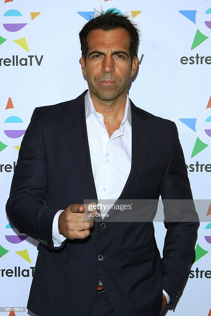 TV Personality Felipe Viel attends the launch party for Estrella TV news anchor: Myrka Dellanos at The Conga Room at L.A. Live on May 1, 2013 in Los Angeles, California.
