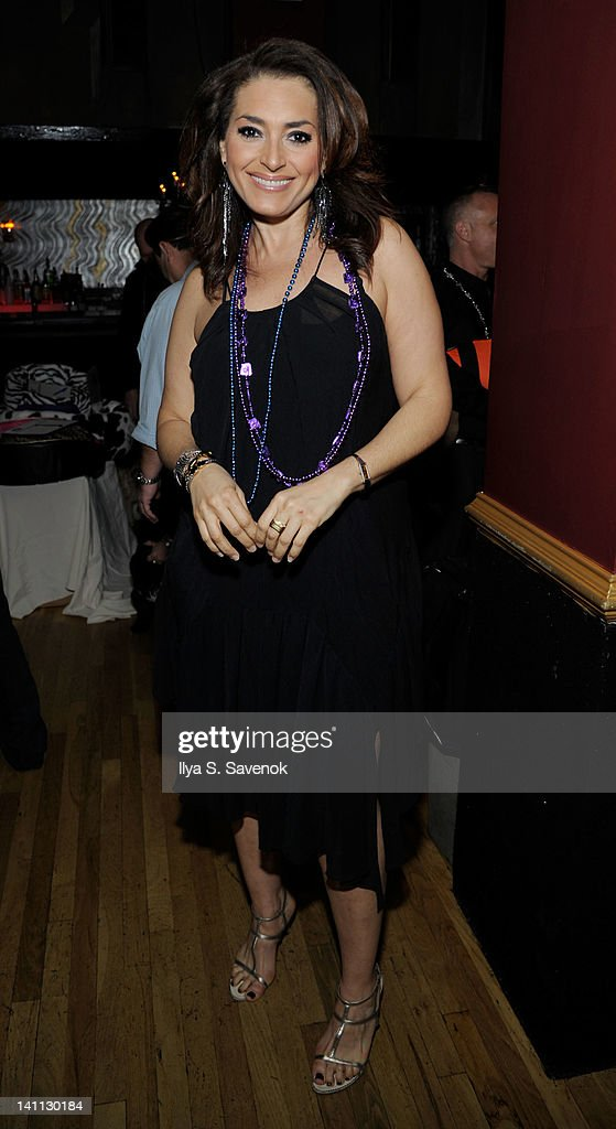 TV personality Francesca Maxime attends Celebrity Catwalk: Mardi Paws Back In Black at Shadow on March 10, 2012 in New York City.