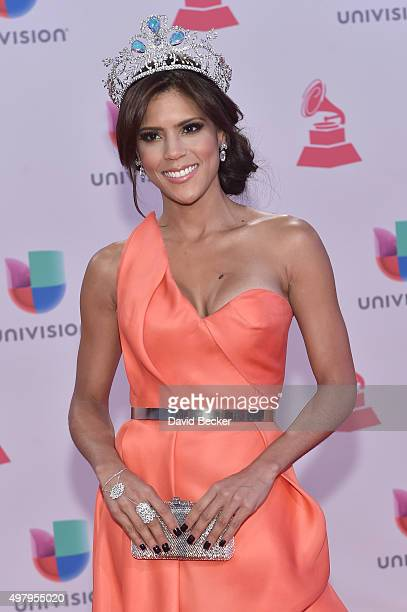 TV personality Francisca Lachapel attends the 16th Latin GRAMMY Awards at the MGM Grand Garden Arena on November 19 2015 in Las Vegas Nevada