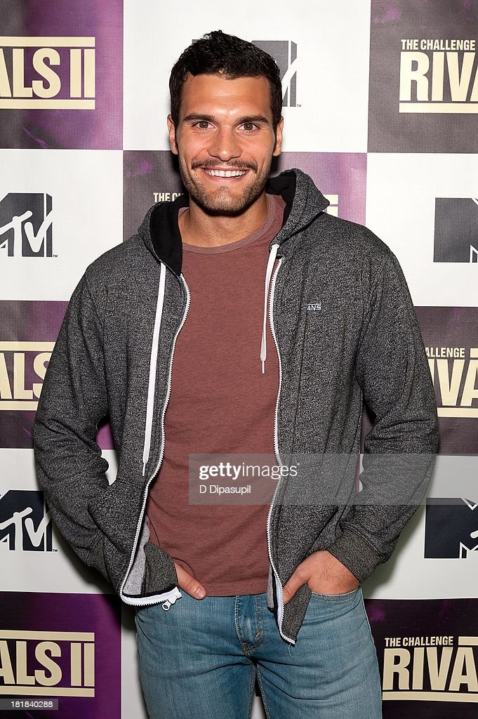 TV personality Frank Sweeney attends MTV's 'The Challenge: Rivals II' Final Episode and Reunion Party at Chelsea Studio on September 25, 2013 in New York City.