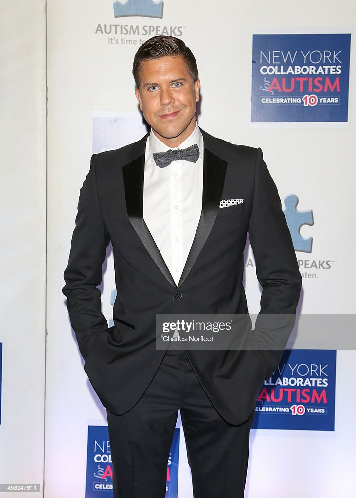 TV personality Fredrik Eklund attends the 2013 Winter Ball For Autism at the Metropolitan Museum of Art on December 2, 2013 in New York City.