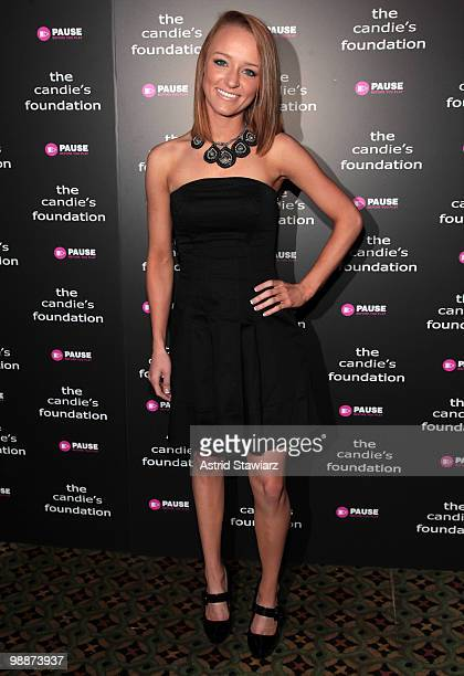 Personality from MTV's 'Teen Mom' Maci Bookout attends The Candie's Foundation Event To Prevent at Cipriani 42nd Street on May 5 2010 in New York City