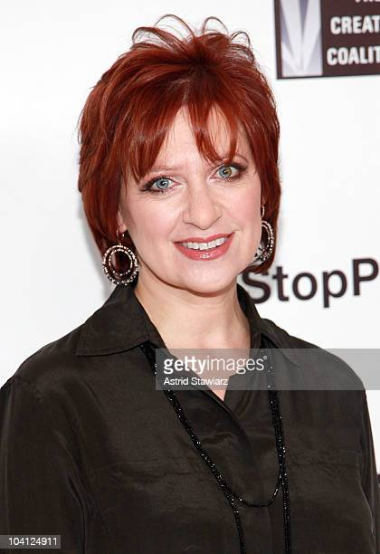 Personality from 'Real Housewives of New Jersey ' Caroline Manzo attends the Onestoppluscom Spring 2011 fashion show during MercedesBenz Fashion Week...