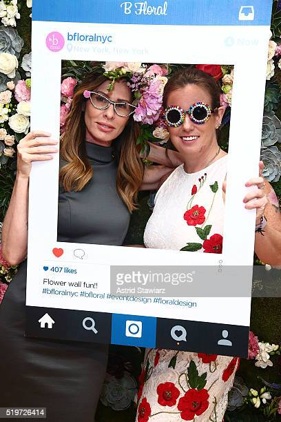 TV personality from 'Real Housewives of New York' Carole Radziwill and Owner and Lead Designer of B Floral Bronwen Smith host B Floral's Spring...