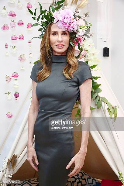 TV personality from 'Real Housewives of New York' Carole Radziwill attends B Floral's Bronwen Smith And Bravo TV's Carole Radziwill Floral And...