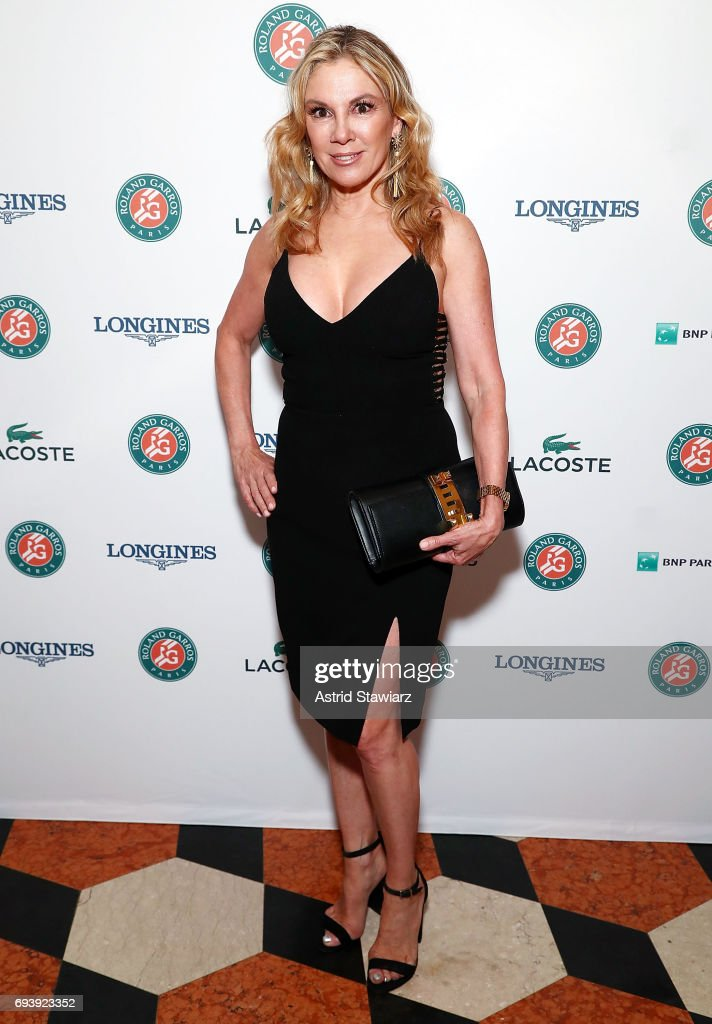 TV personality from 'The Real Housewives of New York City' Ramona Singer attends the Roland-Garros reception at French Consulate on June 8, 2017 in New York City.