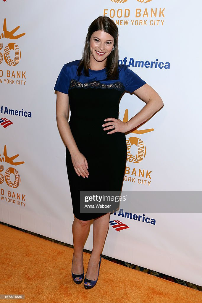 TV personality Gail Simmons arrives at the Food Bank For New York City's Can-Do Awards celebrating 30 years of service to NYC on April 30, 2013 in New York City.