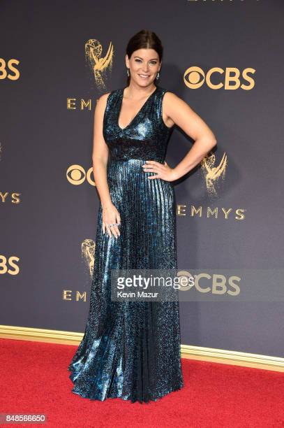 TV personality Gail Simmons attends the 69th Annual Primetime Emmy Awards at Microsoft Theater on September 17 2017 in Los Angeles California