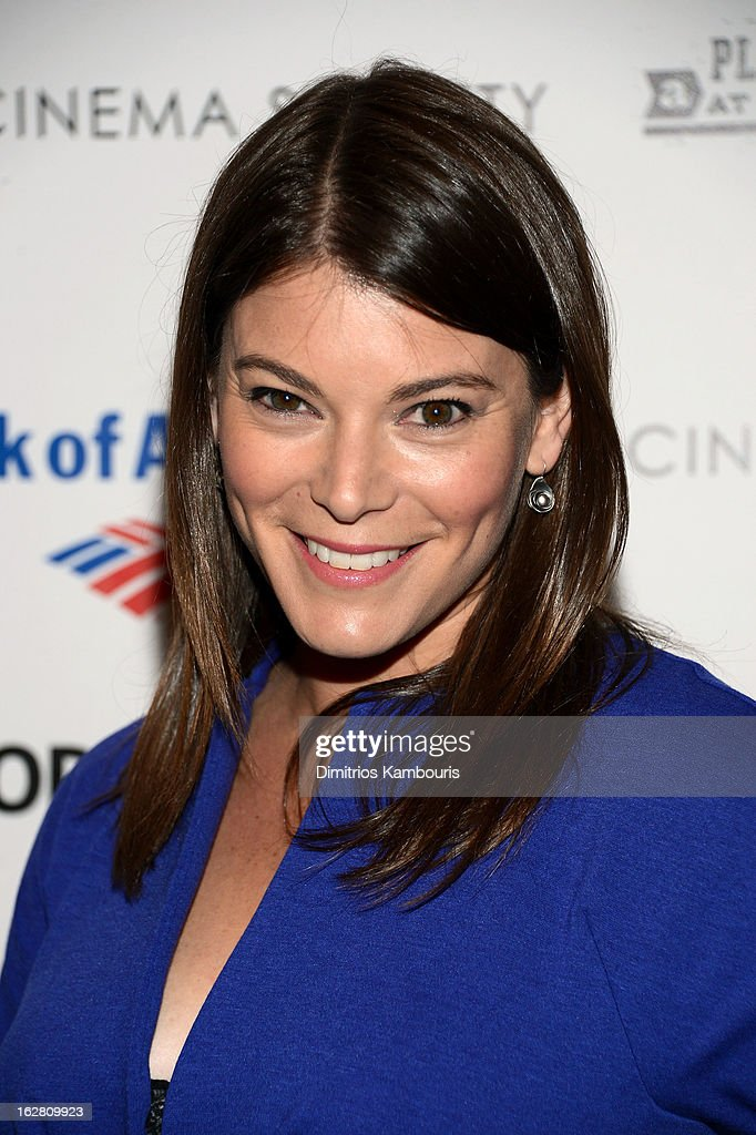 TV personality Gail Simmons attends the Bank of America and Food Wine with The Cinema Society screening of 'A Place at the Table' at Museum of Modern...