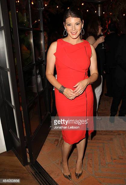 TV personality Gail Simmons attends Variety and Women in Film Emmy Nominee Celebration powered by Samsung Galaxy on August 23 2014 in West Hollywood...