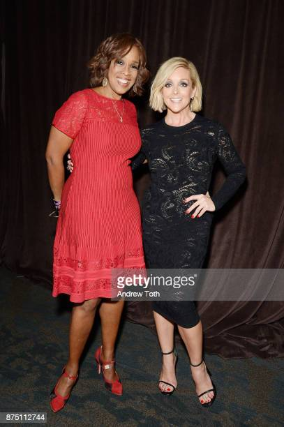 TV personality Gayle King and actress Jane Krakowski attend NewYorkPresbyterian Hospital's Amazing Kids Amazing Care dinner at Cipriani 25 Broadway...