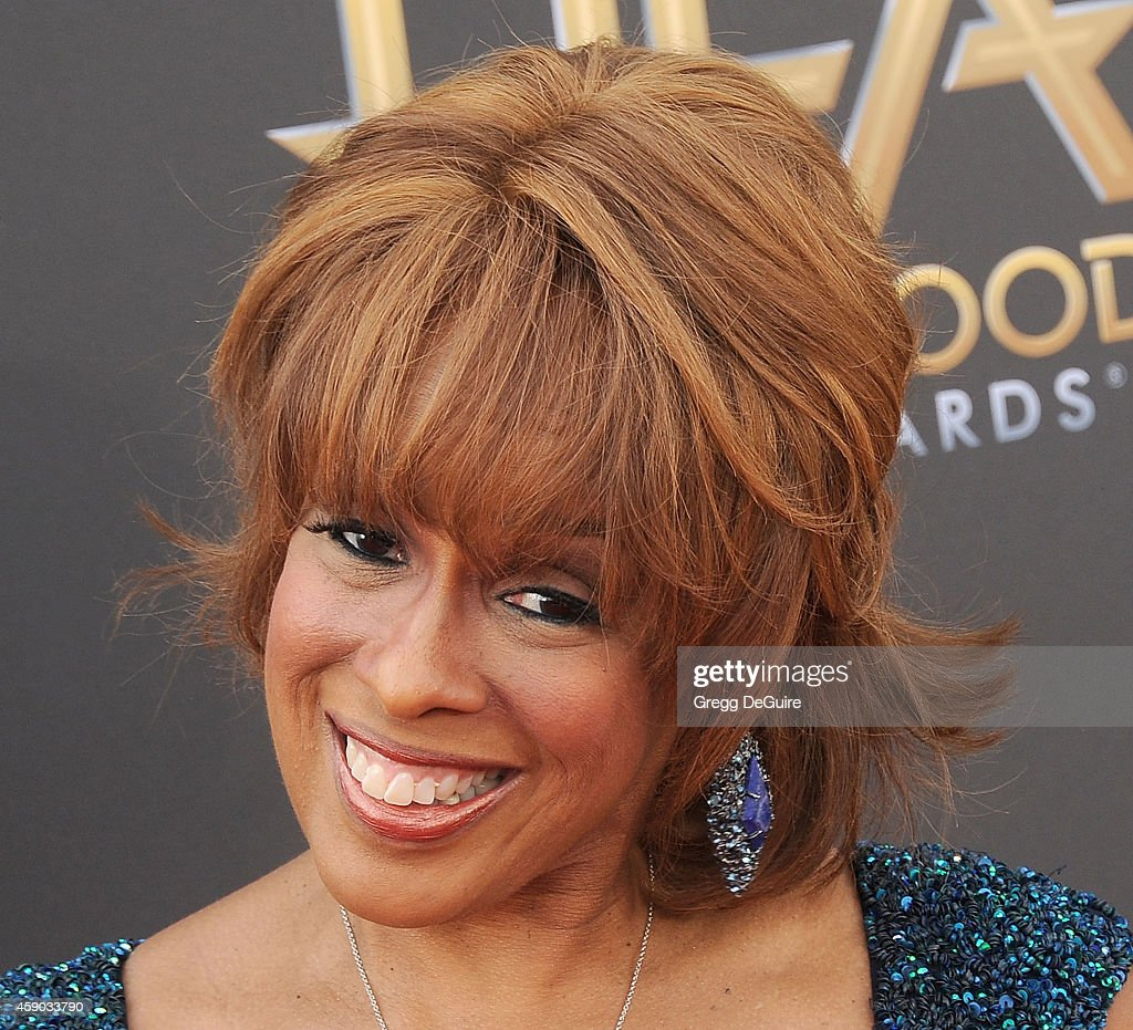 TV personality Gayle King arrives at the 18th Annual Hollywood Film Awards at The Palladium on November 14, 2014 in Hollywood, California.