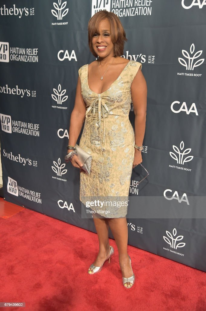 TV personality Gayle King attend Sean Penn & Friends