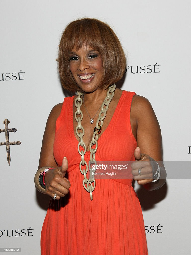 TV personality Gayle King attends D'USSE VIP Riser + Lounge At On The Run Tour - MetLife Stadium on July 12, 2014 in East Rutherford City.
