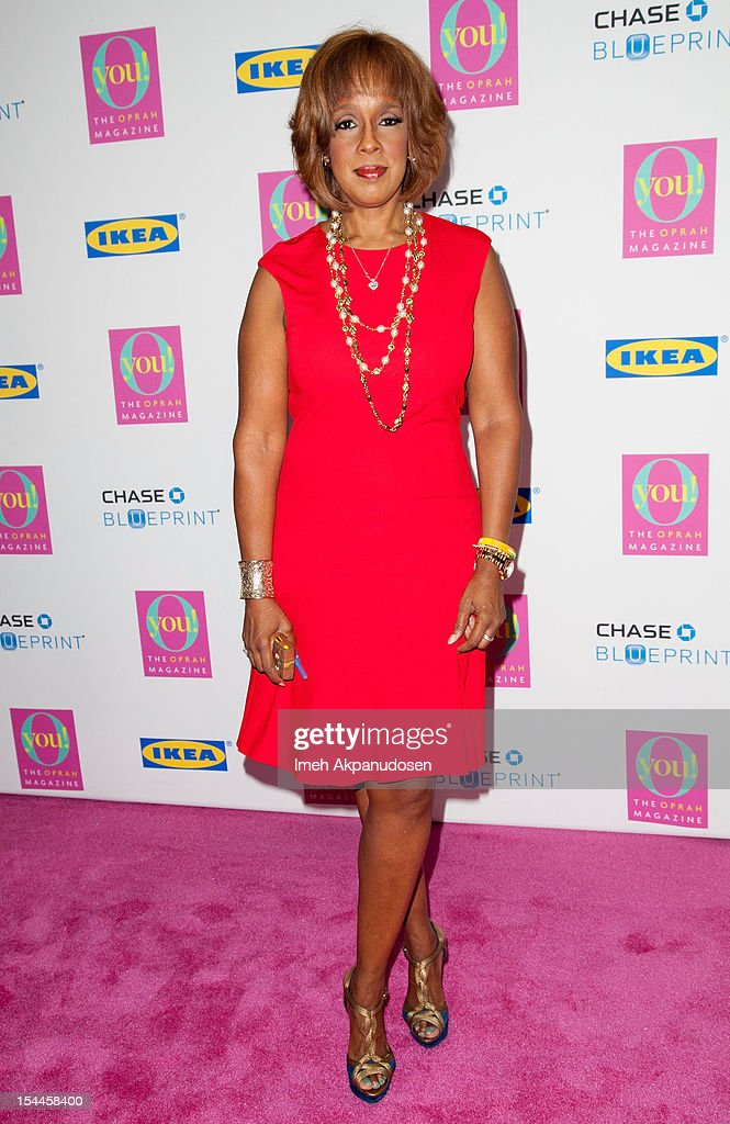 TV personality Gayle King attends O, The Oprah Magazine's O You! Event at Los Angeles Convention Center on October 20, 2012 in Los Angeles, California.
