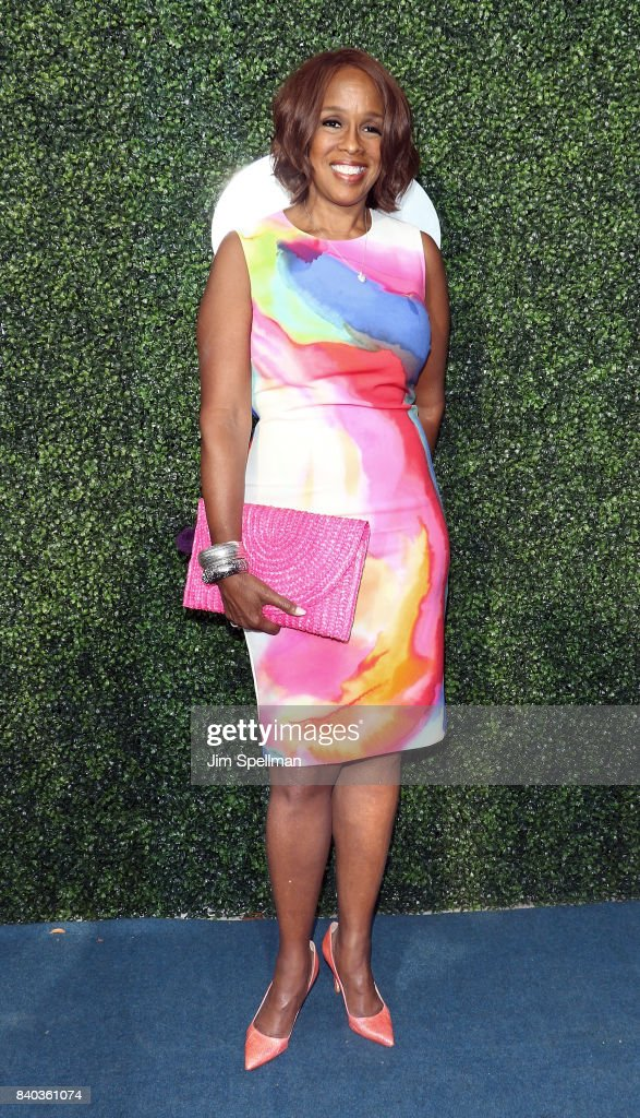 TV personality Gayle King attends the 17th Annual USTA Foundation Opening Night Gala at USTA Billie Jean King National Tennis Center on August 28, 2017 in the Queens borough of New York City.