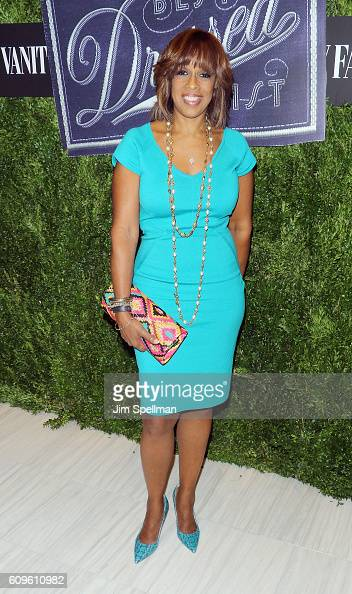 TV personality Gayle King attends the 2016 Vanity Fair International Best Dressed List at Saks Fifth Avenue on September 21 2016 in New York City