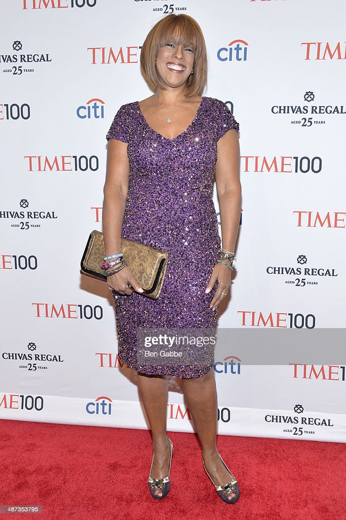 TV personality <a gi-track='captionPersonalityLinkClicked' href=/galleries/search?phrase=Gayle+King&family=editorial&specificpeople=215469 ng-click='$event.stopPropagation()'>Gayle King</a> attends the TIME 100 Gala, TIME's 100 most influential people in the world, at Jazz at Lincoln Center on April 29, 2014 in New York City.