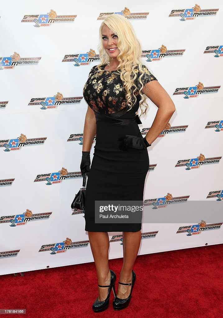 TV Personality Genevieve Chappell attends the premiere of 'Snake & Mongoo$e' at the Egyptian Theatre on August 26, 2013 in Hollywood, California.