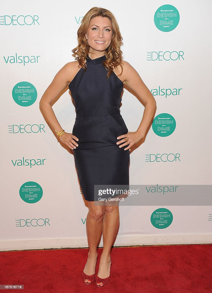 TV personality Genevieve Gorder attends Housing Works 9th Annual Design On A Dime Benefit at Metropolitan Pavilion on April 25, 2013 in New York City.