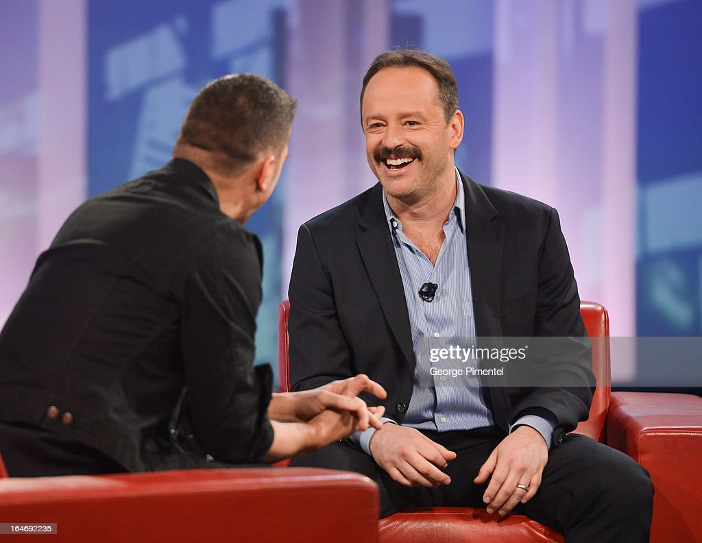 gil bellows appears on personality george stroumboulopoulos interviews actor gil bellows on george stroumboulopoulos tonight at cbc broadcast