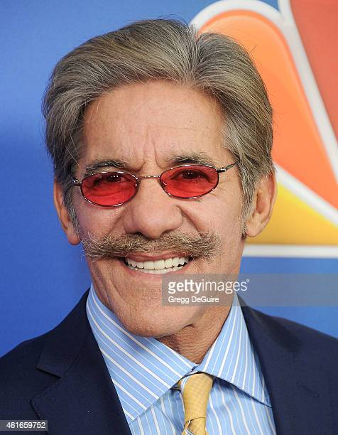 TV personality Geraldo Rivera arrives at day 2 of the NBCUniversal 2015 Press Tour at The Langham Huntington Hotel and Spa on January 16 2015 in...