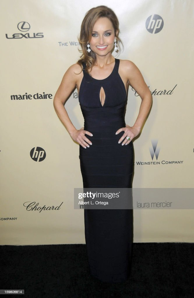 TV personality Giada De Laurentiis arrives for the Weinstein Company's 2013 Golden Globe Awards After Party - Arrivals on January 13, 2013 in Beverly Hills, California.