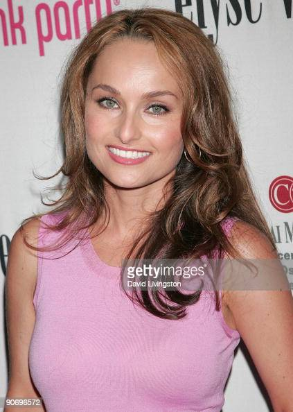 TV personality Giada De Laurentiis attends the 5th annual Pink Party at La Cachette Bistro on September 12 2009 in Santa Monica California