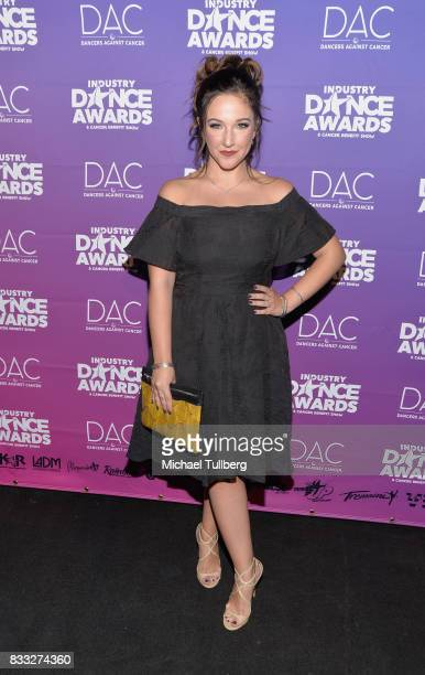 TV personality Gianna Martello attends the 2017 Industry Dance Awards and Cancer Benefit Show at Avalon on August 16 2017 in Hollywood California