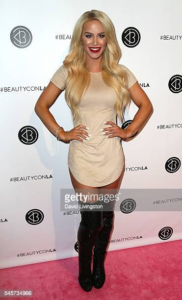 TV personality Gigi Gorgeous attends the 4th Annual Beautycon Festival Los Angeles at the Los Angeles Convention Center on July 9 2016 in Los Angeles...
