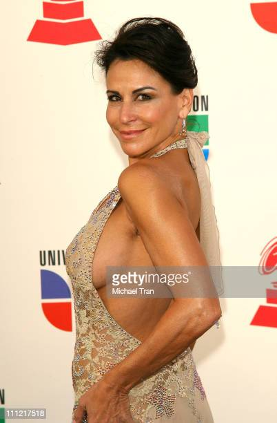 TV personality Giselle Fernandez arrives to the 8th Annual Latin GRAMMY Awards at Mandalay Bay on November 8 2007 in Las Vegas Nevada
