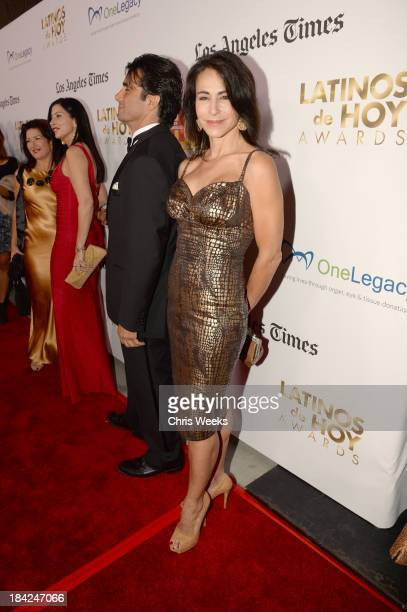 TV personality Giselle Fernandez attends the '2013 Latinos de Hoy Awards' Sponsored by OneLegacy on Saturday October 12 at Los Angeles Times Chandler...