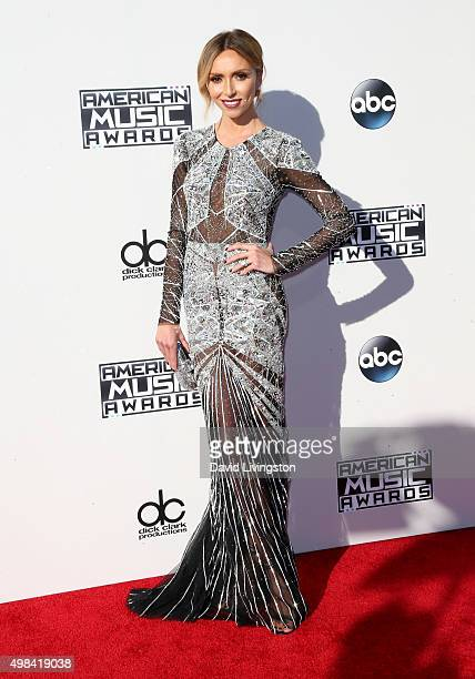 Personality Giuliana Rancic arrives at the 2015 American Music Awards at Microsoft Theater on November 22 2015 in Los Angeles California