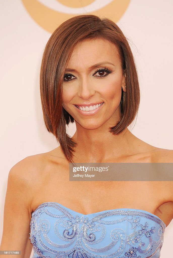 TV personality Giuliana Rancic arrives at the 65th Annual Primetime Emmy Awards at Nokia Theatre LA Live on September 22 2013 in Los Angeles...