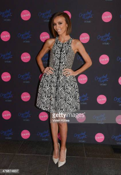 TV personality Giuliana Rancic attends Crystal Light Liquid And Giuliana Rancic Toast Oscars at SLS Hotel on March 5 2014 in Beverly Hills California