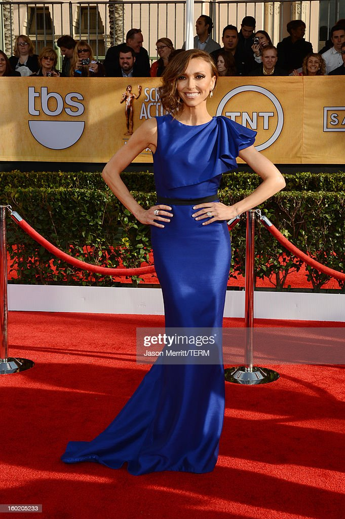 TV personality Giuliana Rancic attends the 19th Annual Screen Actors Guild Awards at The Shrine Auditorium on January 27, 2013 in Los Angeles, California. (Photo by Jason Merritt/WireImage) 23116_014_0107.JPG