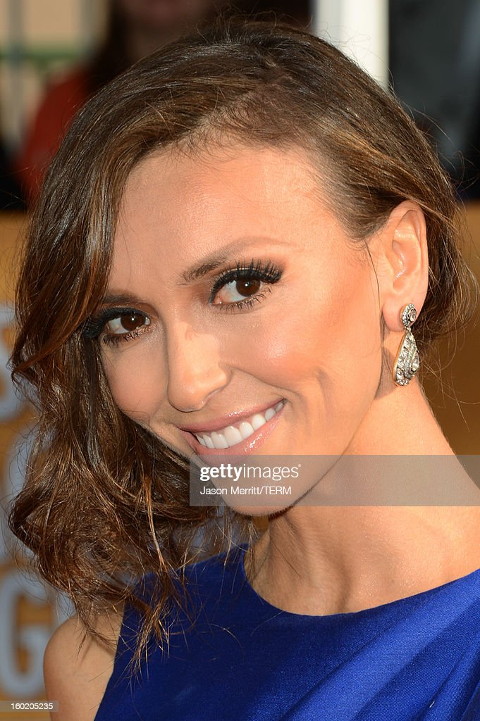 TV personality Giuliana Rancic attends the 19th Annual Screen Actors Guild Awards at The Shrine Auditorium on January 27, 2013 in Los Angeles, California. (Photo by Jason Merritt/WireImage) 23116_014_0119.JPG