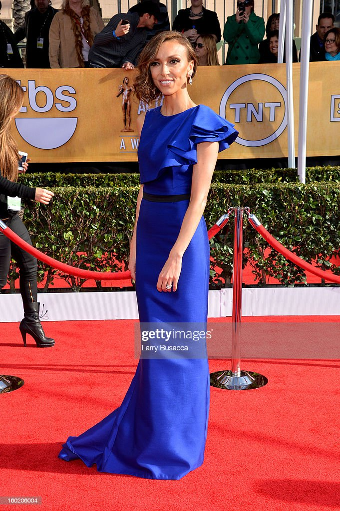 TV personality Giuliana Rancic attends the 19th Annual Screen Actors Guild Awards at The Shrine Auditorium on January 27, 2013 in Los Angeles, California. (Photo by Larry Busacca/WireImage) 23116_018_0051.jpg