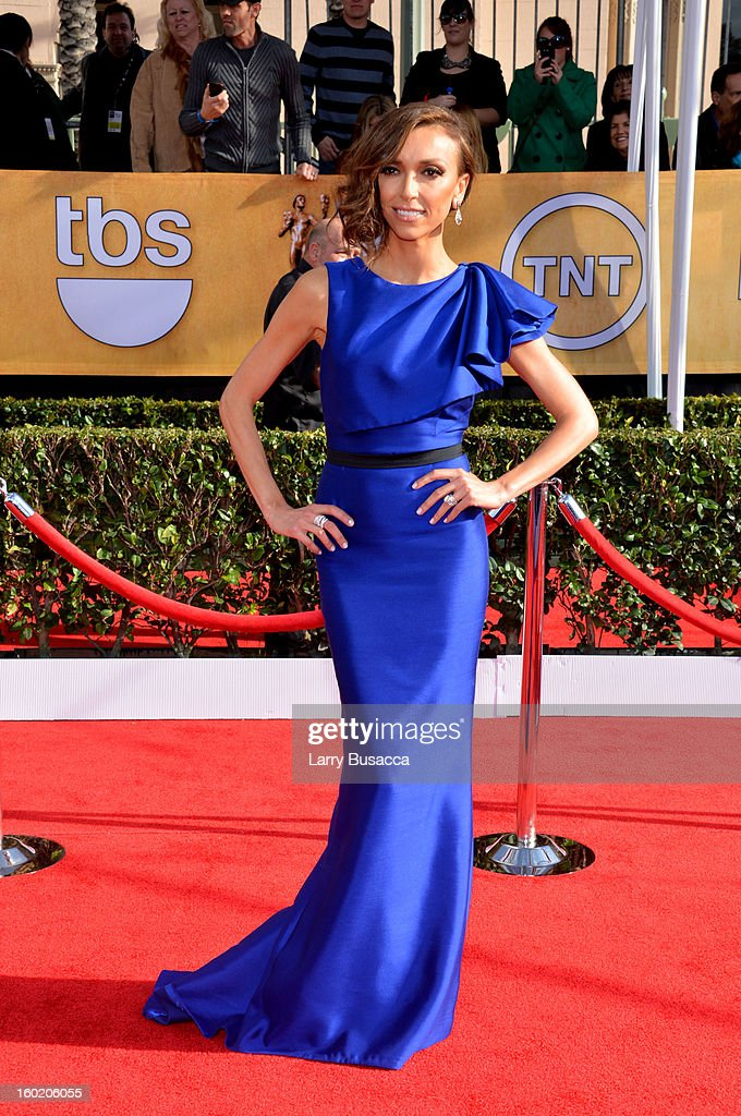 TV personality Giuliana Rancic attends the 19th Annual Screen Actors Guild Awards at The Shrine Auditorium on January 27, 2013 in Los Angeles, California. (Photo by Larry Busacca/WireImage) 23116_018_0052.jpg