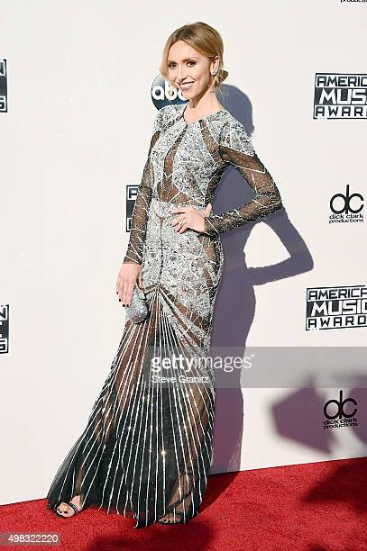 TV personality Giuliana Rancic attends the 2015 American Music Awards at Microsoft Theater on November 22 2015 in Los Angeles California