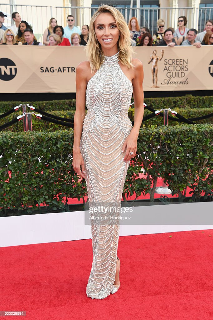 TV personality Giuliana Rancic attends the 23rd Annual Screen Actors Guild Awards at The Shrine Expo Hall on January 29, 2017 in Los Angeles, California.