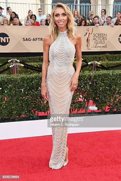 TV personality Giuliana Rancic attends the 23rd Annual Screen Actors Guild Awards at The Shrine Expo Hall on January 29 2017 in Los Angeles California